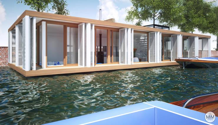 Pied a L' eau:  Huizen door M&M Watervilla
