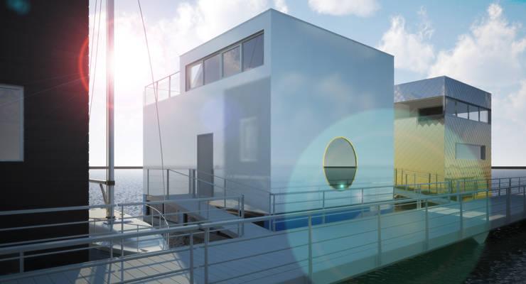 Jacht:  Huizen door M&M Watervilla