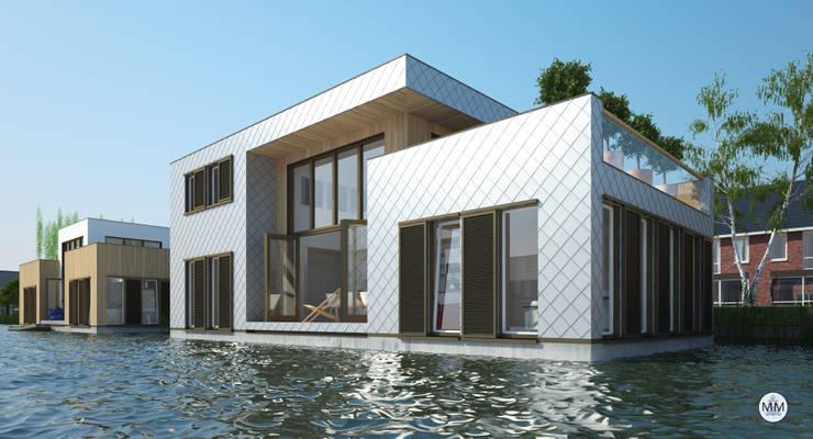 Orangerie:  Huizen door M&M Watervilla