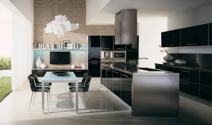 Cocinas de estilo  por erenyan mimarlık proje&tasarım, Moderno