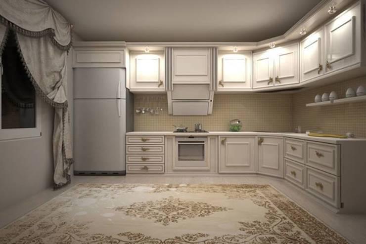 erenyan mimarlık proje&tasarım – MUTFAK VE BANYO TASARIMLAR:  tarz Mutfak, Minimalist