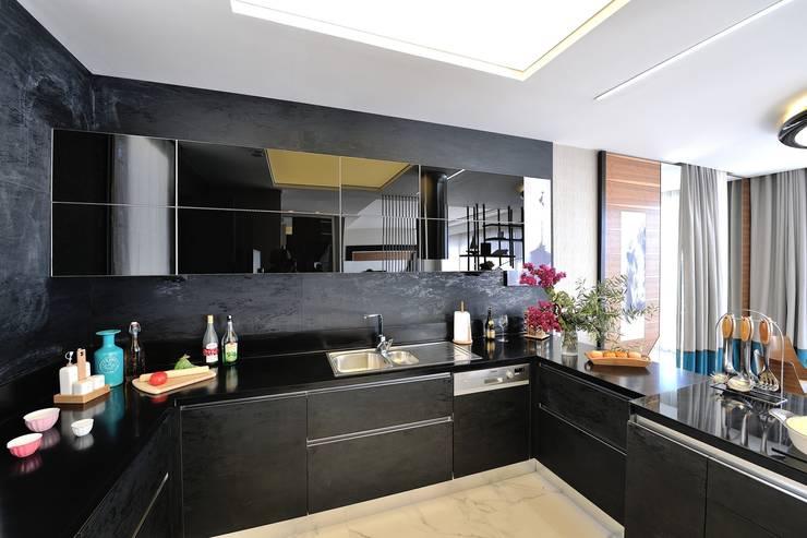 erenyan mimarlık proje&tasarım – MUTFAK VE BANYO TASARIMLAR:  tarz Mutfak, Modern