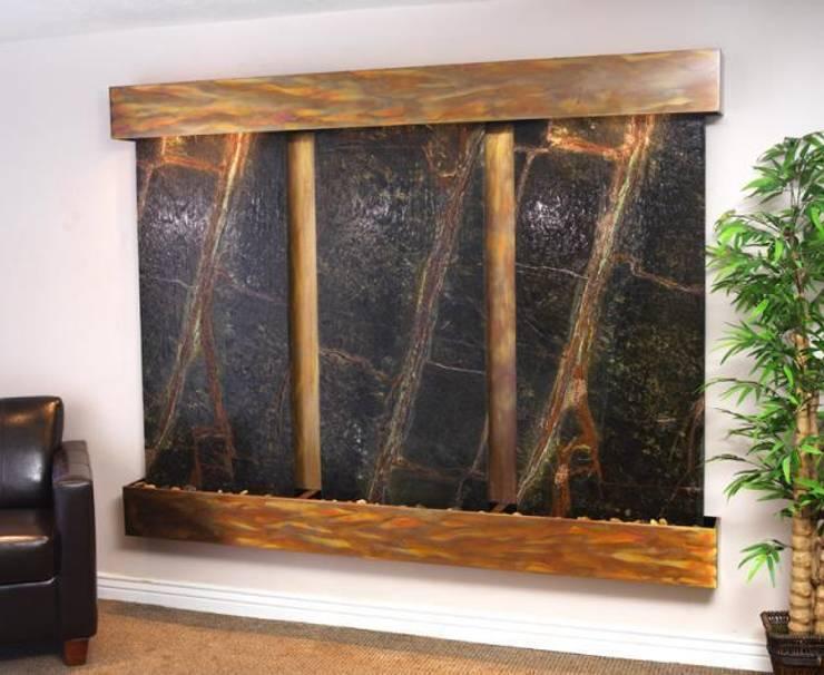 Damla Şelale – Duvar Şelalesi:  tarz İç Dekorasyon