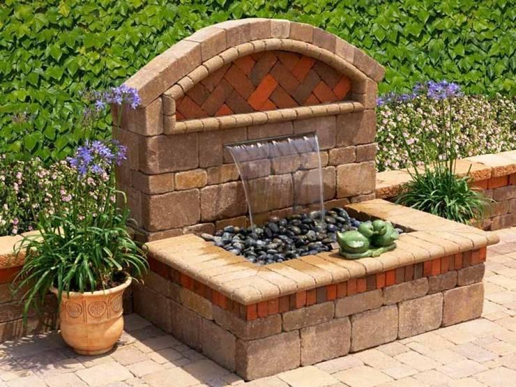 Damla Şelale – Bahçe Şelalesi:  tarz Bahçe