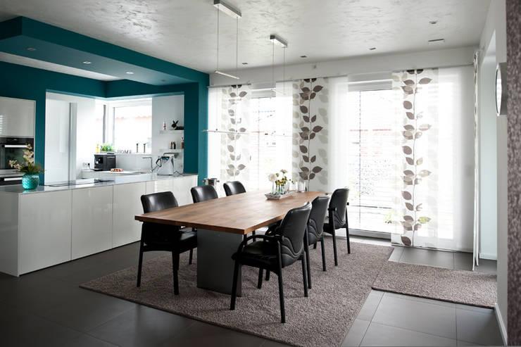 Architekturbüro J. + J. Viethen:  tarz Yemek Odası