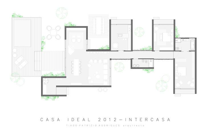 Casa Ideal 2012_Arquitectura:   por Tiago Patricio Rodrigues, Arquitectura e Interiores