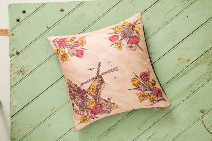 Silk Memento Cushion - Holland:  Household by RE