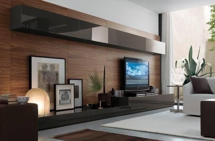 Erol Degim Design – Oturma odası:  tarz Oturma Odası