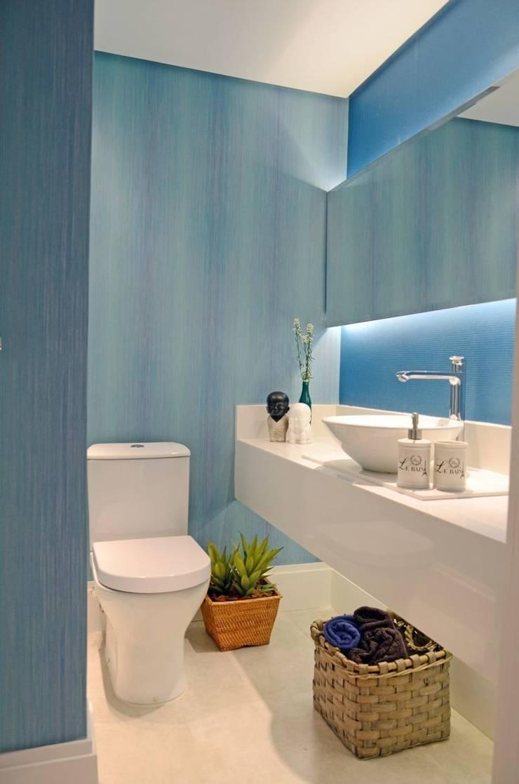 Lavabo: Banheiros modernos por fpr Studio