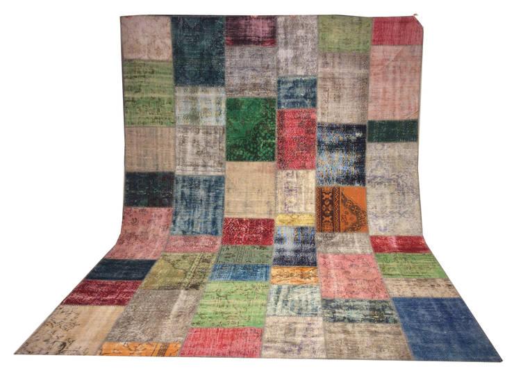 Refound Carpet – patchwork carpet:  tarz Duvar & Zemin