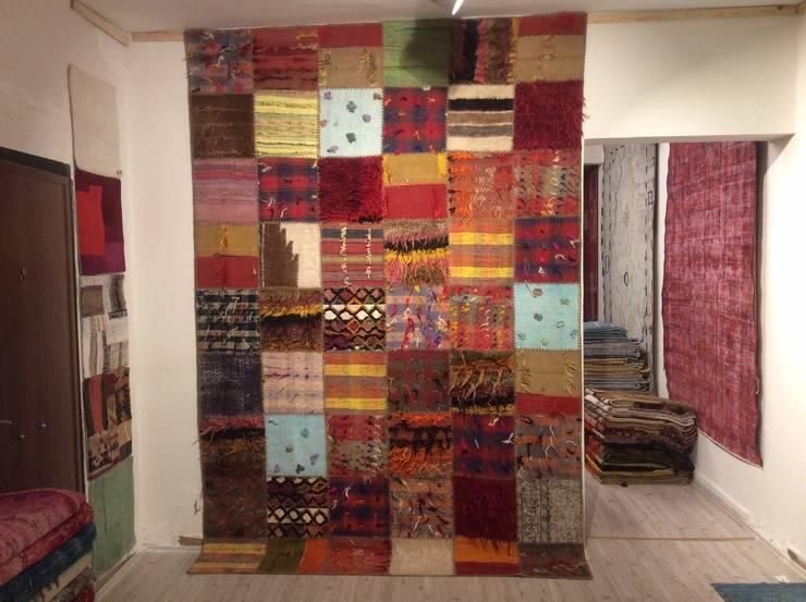 Refound Carpet – Tülü patchwork:  tarz Duvar & Zemin