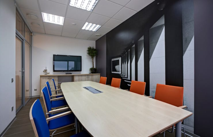 Офис юридической компании Октогон:  в . Автор – BONA Architecture & Interior    -    ООО 'Архитектурное Бюро БОНА' ,