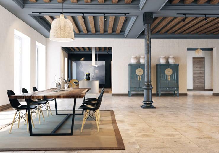 Столовые комнаты в . Автор – Pfayfer Fradina Design