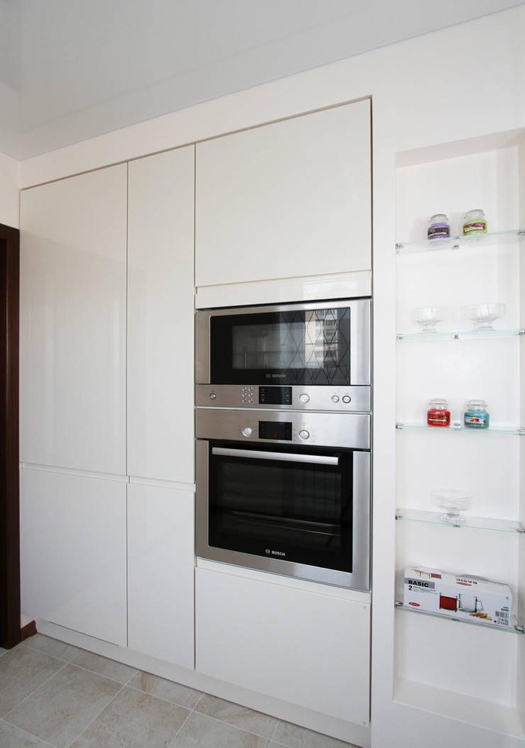 От дизайн проекта до готового объекта: Кухни в . Автор – LD design,