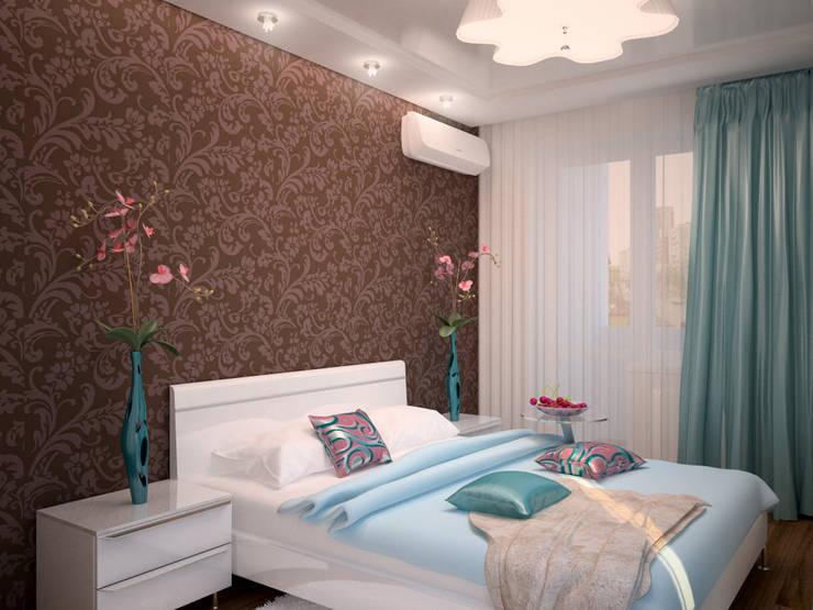 От дизайн проекта до готового объекта/3D визуализация : Спальни в . Автор – LD design,