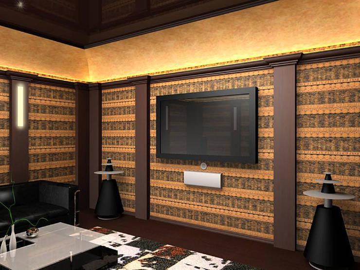 Кинотеатр : Рабочие кабинеты в . Автор – LD design