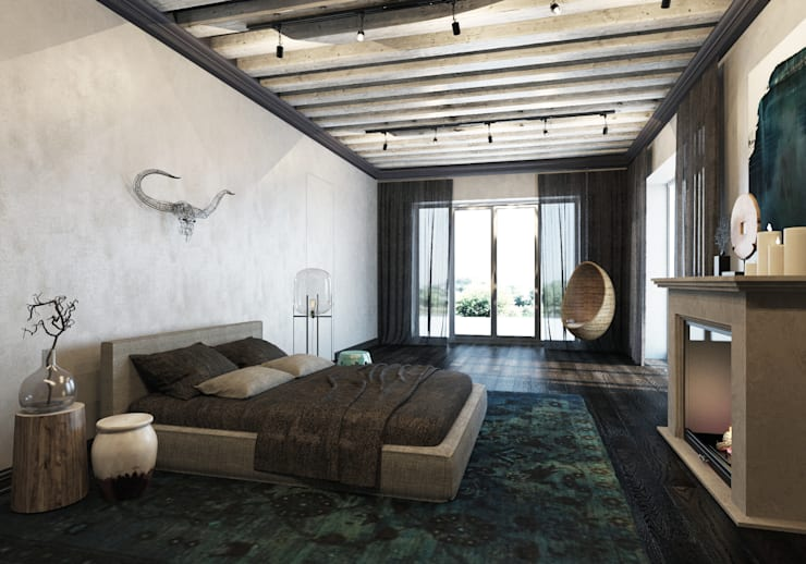 Спальни в . Автор – Pfayfer Fradina Design