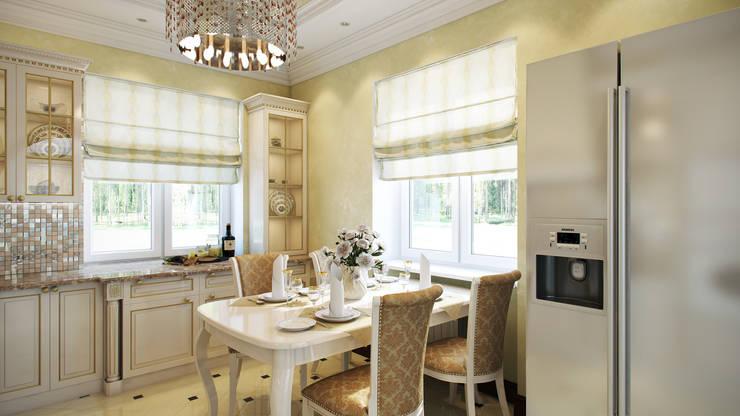 Дом: Кухни в . Автор – Мастерская дизайна ЭГО,
