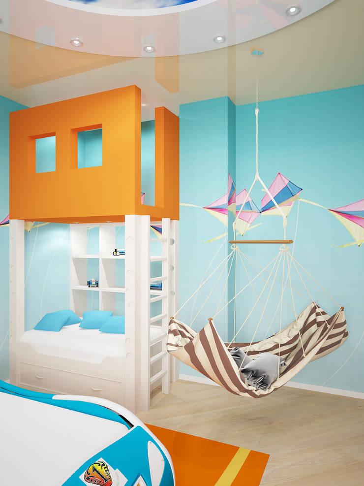 Дом: Детские комнаты в . Автор – Мастерская дизайна ЭГО,