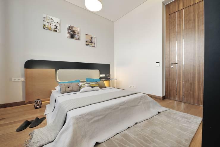 Voltaj Tasarım – THEATRON:  tarz Yatak Odası, Modern