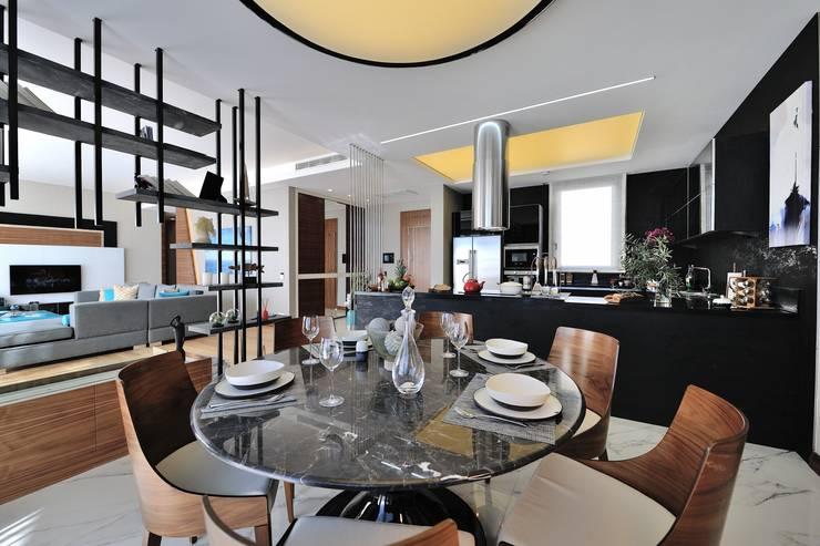 Voltaj Tasarım – THEATRON:  tarz Yemek Odası, Modern