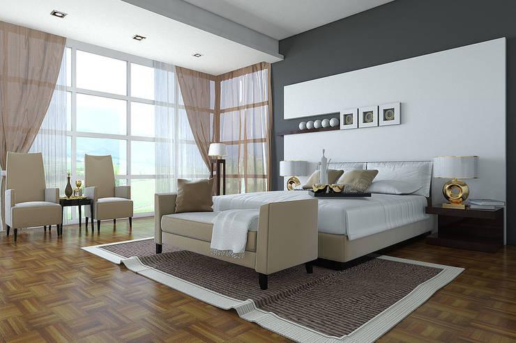Ysk Dekorasyon – YATAK ODASI TASARIM DEKORASYON :  tarz Yatak Odası
