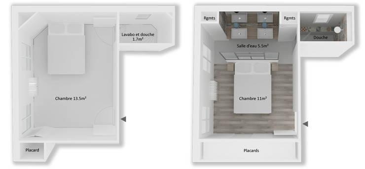 modern  by Yeme + Saunier, Modern