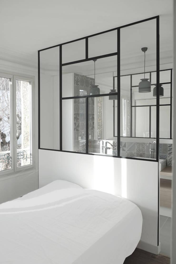 Bedroom by Yeme + Saunier, Minimalist