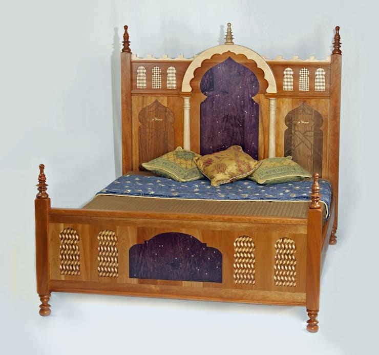 'Salaam Bed':  Bedroom by Timothy Hawkins Gallery