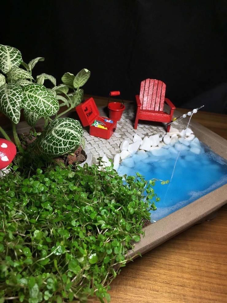MyHobbyMarket & Peri Bahçem – Kişiye Özel Minyatür Bahçe:  tarz Ev İçi