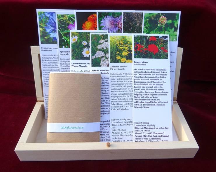 Wildblumenwiese (Saatgut-Box):  Garten von Naturgarten-Samen aus Leipzig