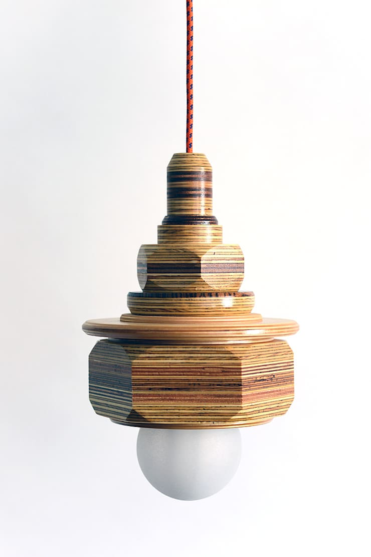 Hanglamp:   door Ingrid Kruit, Industrieel