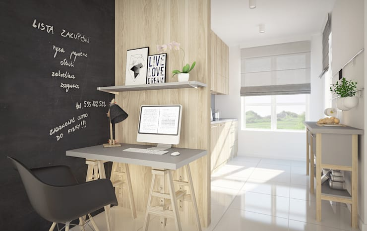 minimalistic Study/office by homify