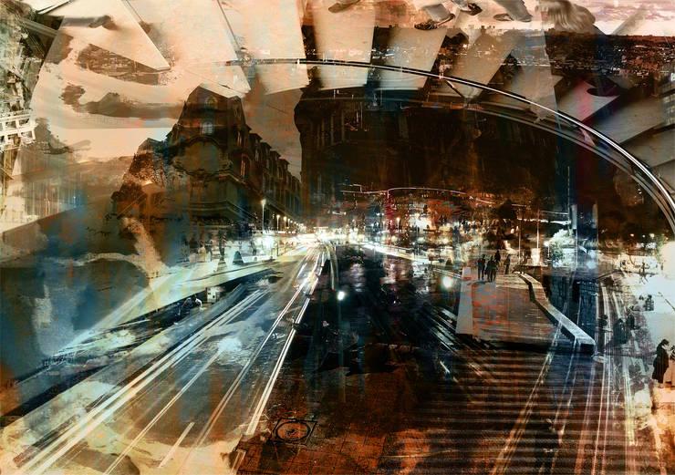 Rush Hour:  Kunst  door Remco Vermaat