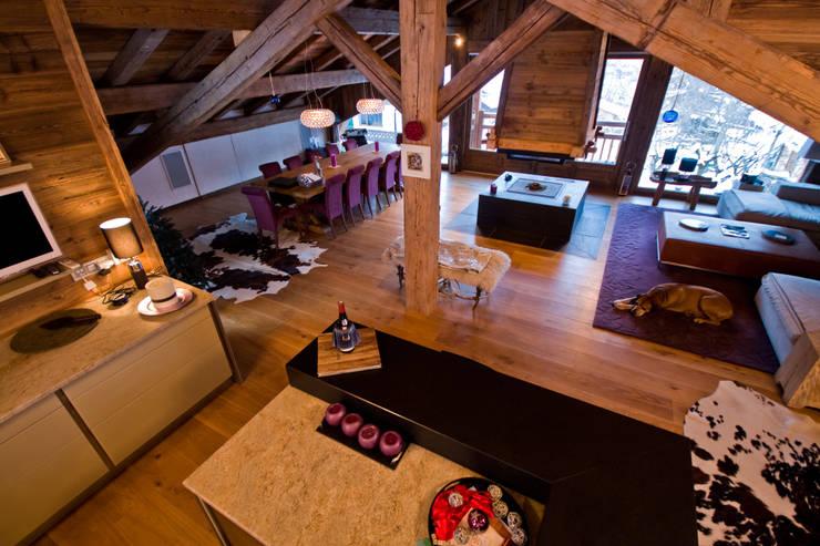 shep&kyles design: kırsal tarz tarz Oturma Odası