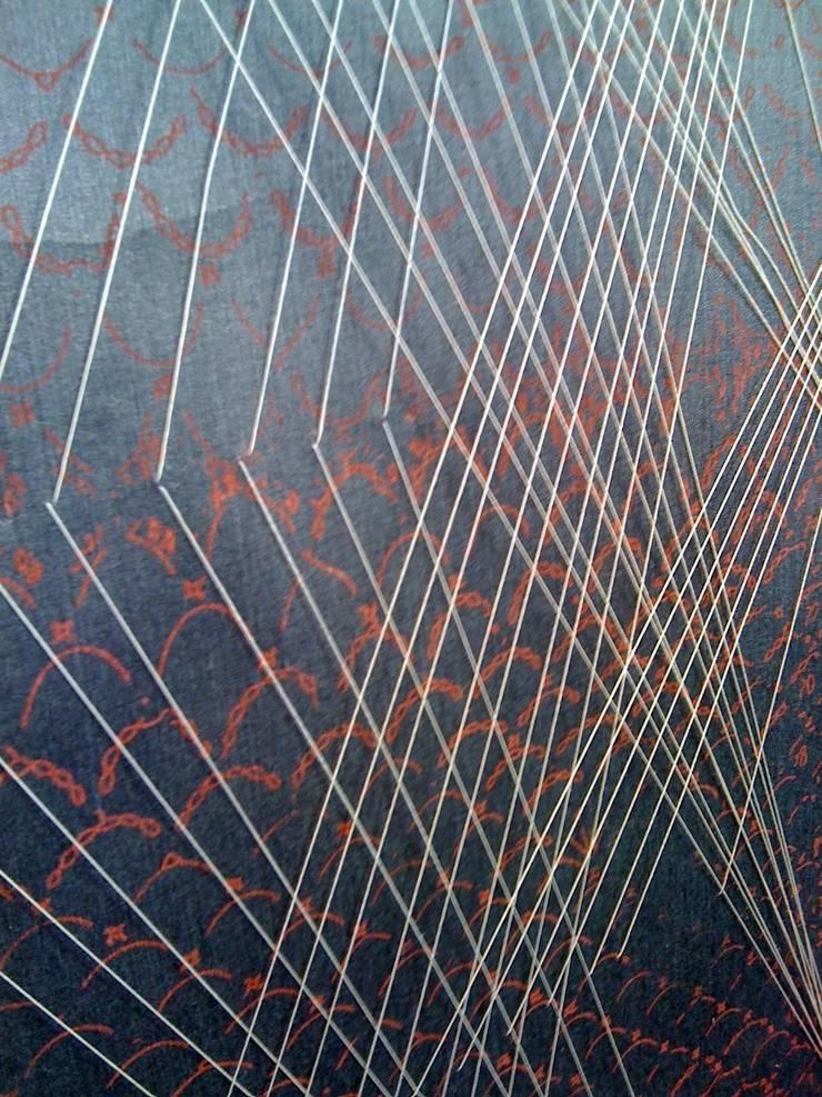 3D Wall geomitry and aqua scene:  Walls & flooring by Tactile Wonderland