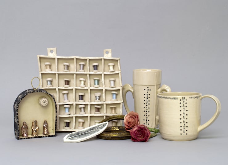 Collection of Collections:  Artwork by Alice Walton Ceramics