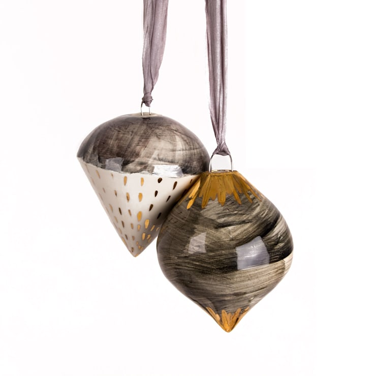 Hanging Decorations:  Artwork by Alice Walton Ceramics
