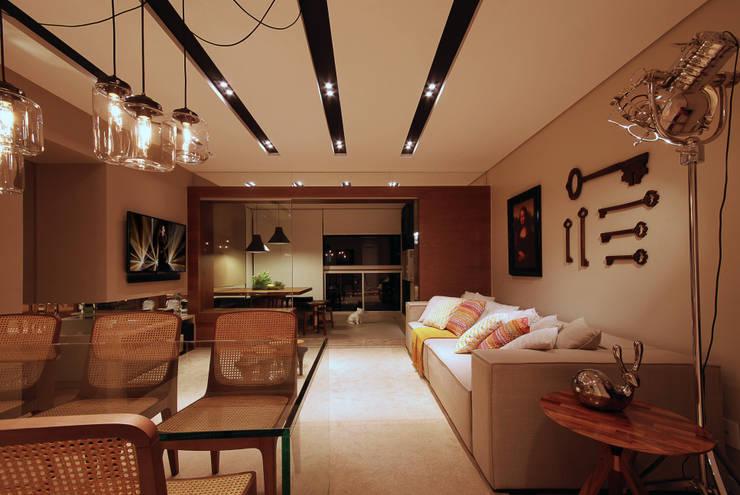 Apartamento 65: Salas de estar modernas por Neoarch