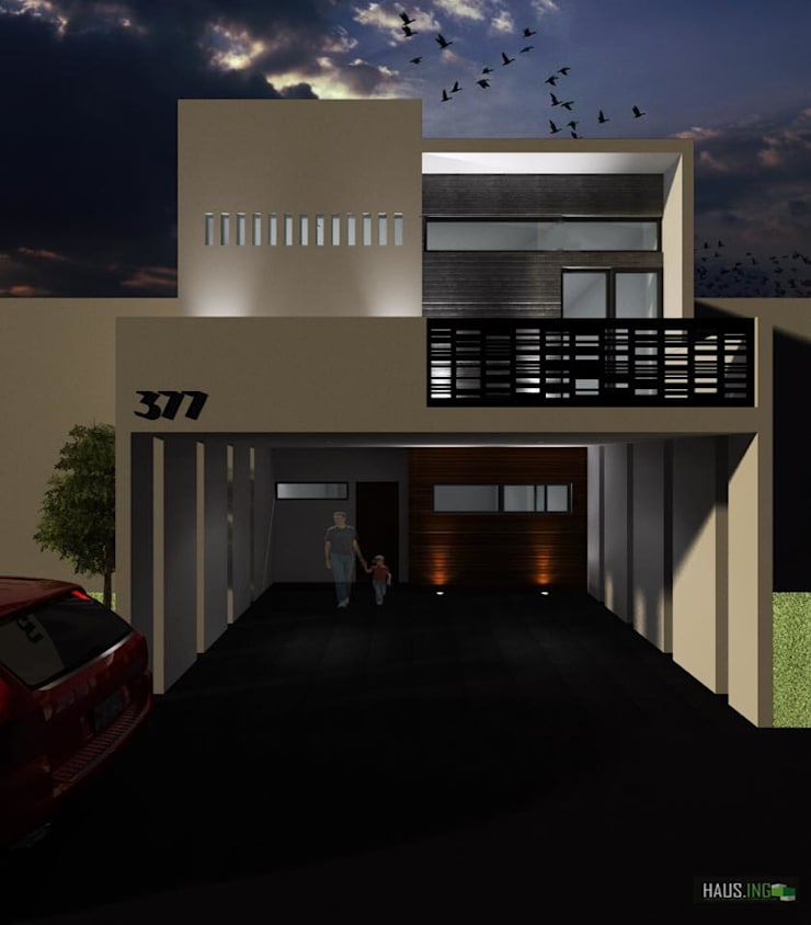 CASA RB: Casas de estilo  por hausing arquitectura