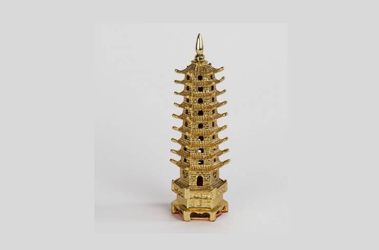 Esra Koyuncu Feng Shui Danışmanlığı – Pagoda - Büyük:  tarz Çalışma Odası