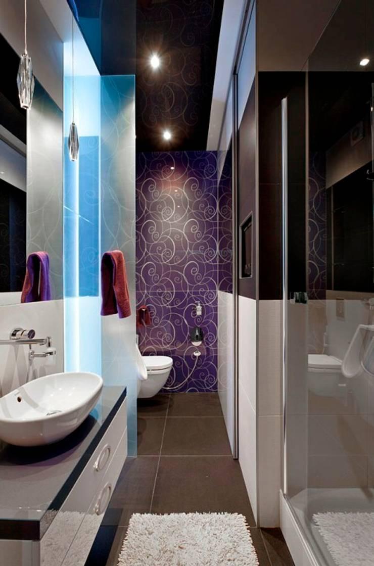 Санузел гостевой: Ванные комнаты в . Автор – Gorshkov design