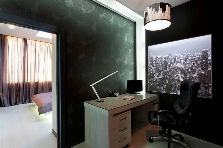 Рабочий кабинет: Рабочие кабинеты в . Автор – Gorshkov design
