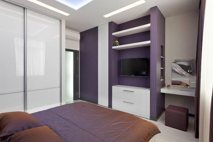 Спальня: Спальни в . Автор – Gorshkov design