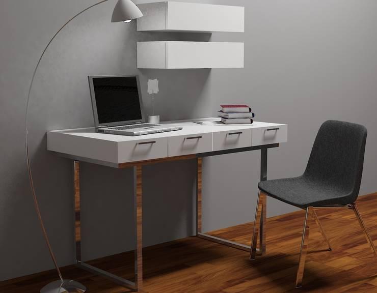İki İç Mimar – MOBİLYA TASARIMI:  tarz Çalışma Odası
