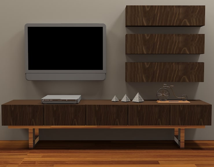 İki İç Mimar – MOBİLYA TASARIMI:  tarz Oturma Odası