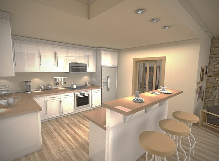 Kitchen by İki İç Mimar