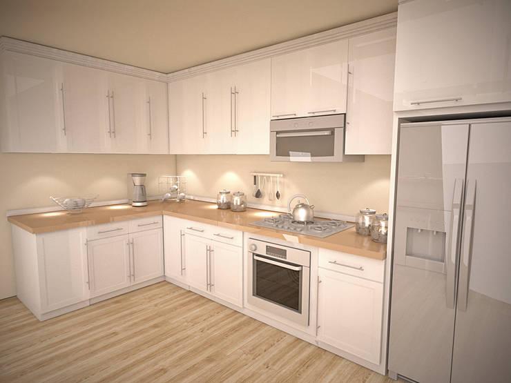 İki İç Mimar – MUTFAK: modern tarz Mutfak