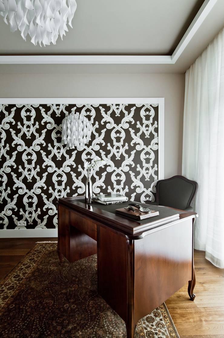 Gabinet : styl , w kategorii Salon zaprojektowany przez living box