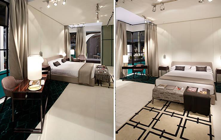Habitación tipo : Hoteles de estilo  de DyD Interiorismo - Chelo Alcañíz